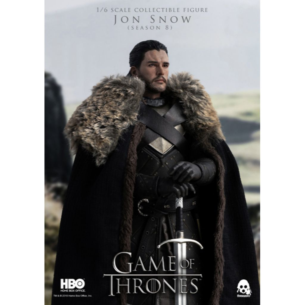 1/6th Scale Collectible Figure - Game of Thrones - Jon Snow (Season 8)