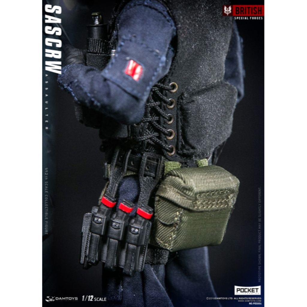 PES001 - British Special Forces - SAS CRW Assaulter (Reissue)