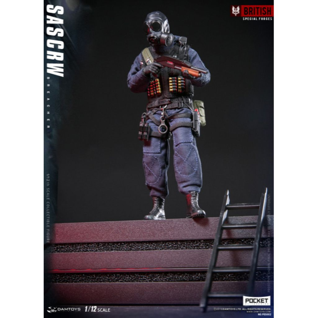 PES002 - British Special Forces - SAS CRW Breacher (Reissue)
