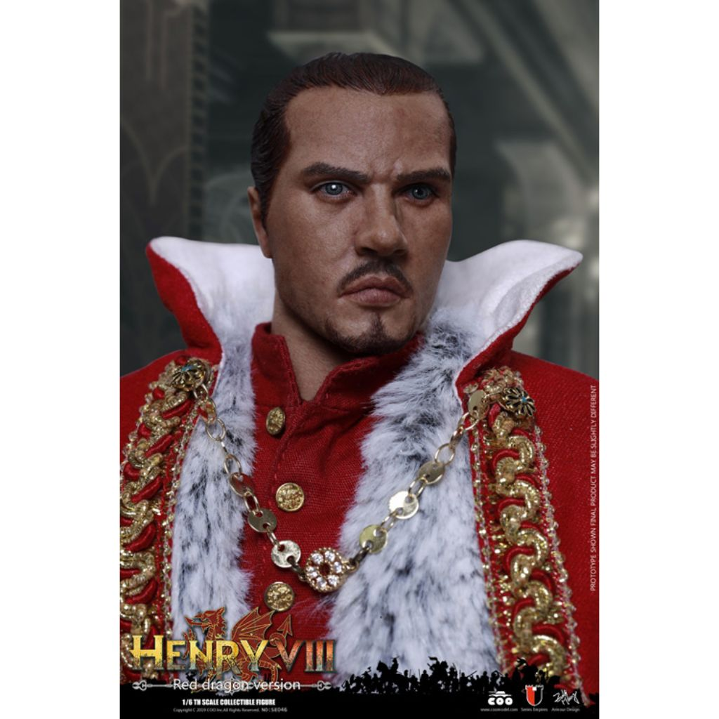 SE046 - Knights of The Realm - Henry VIII (Red Dragon Version)