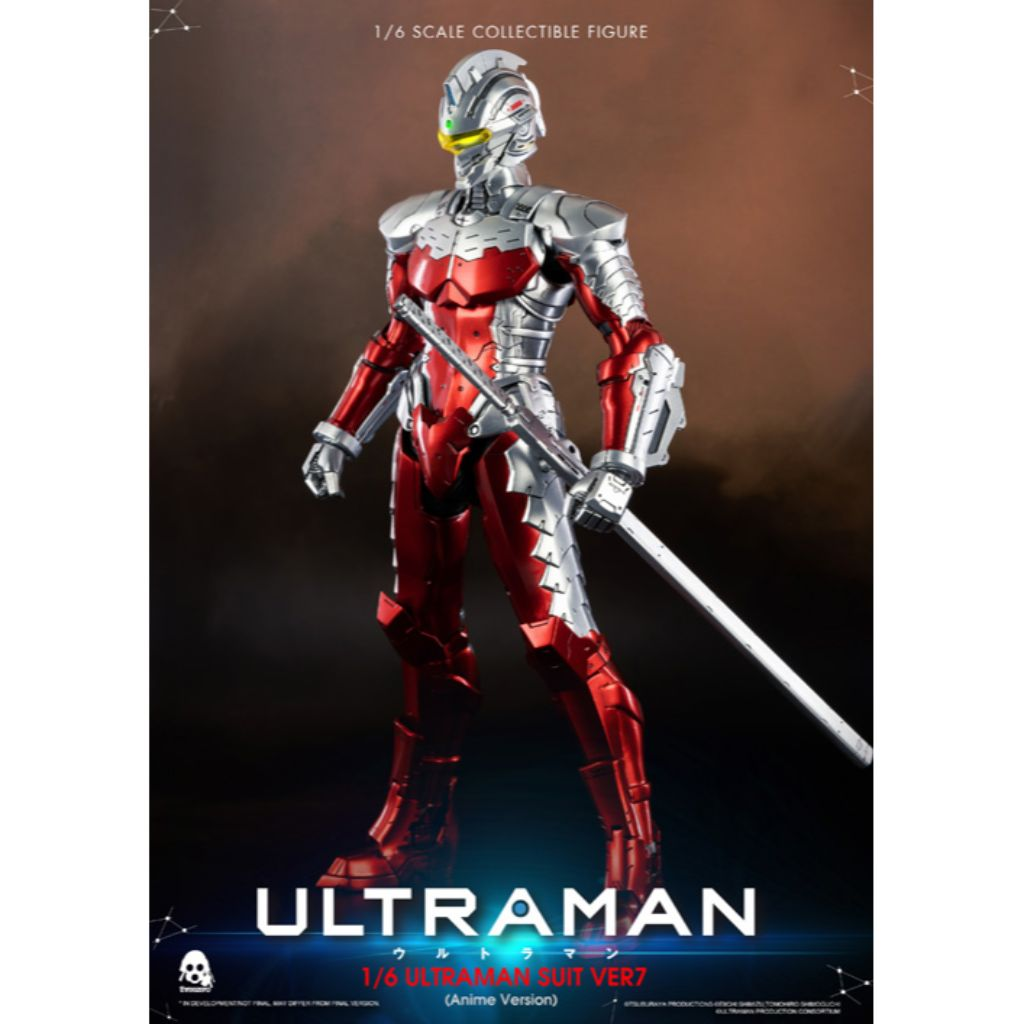 1/6th Scale Collectible Figure - Ultraman - Ultraman Suit Ver7 (Anime Version)