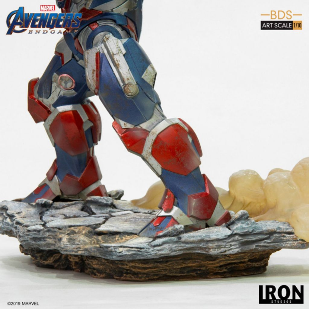Avengers Endgame BDS Art Scale 1/10 - Iron Patriot & Rocket