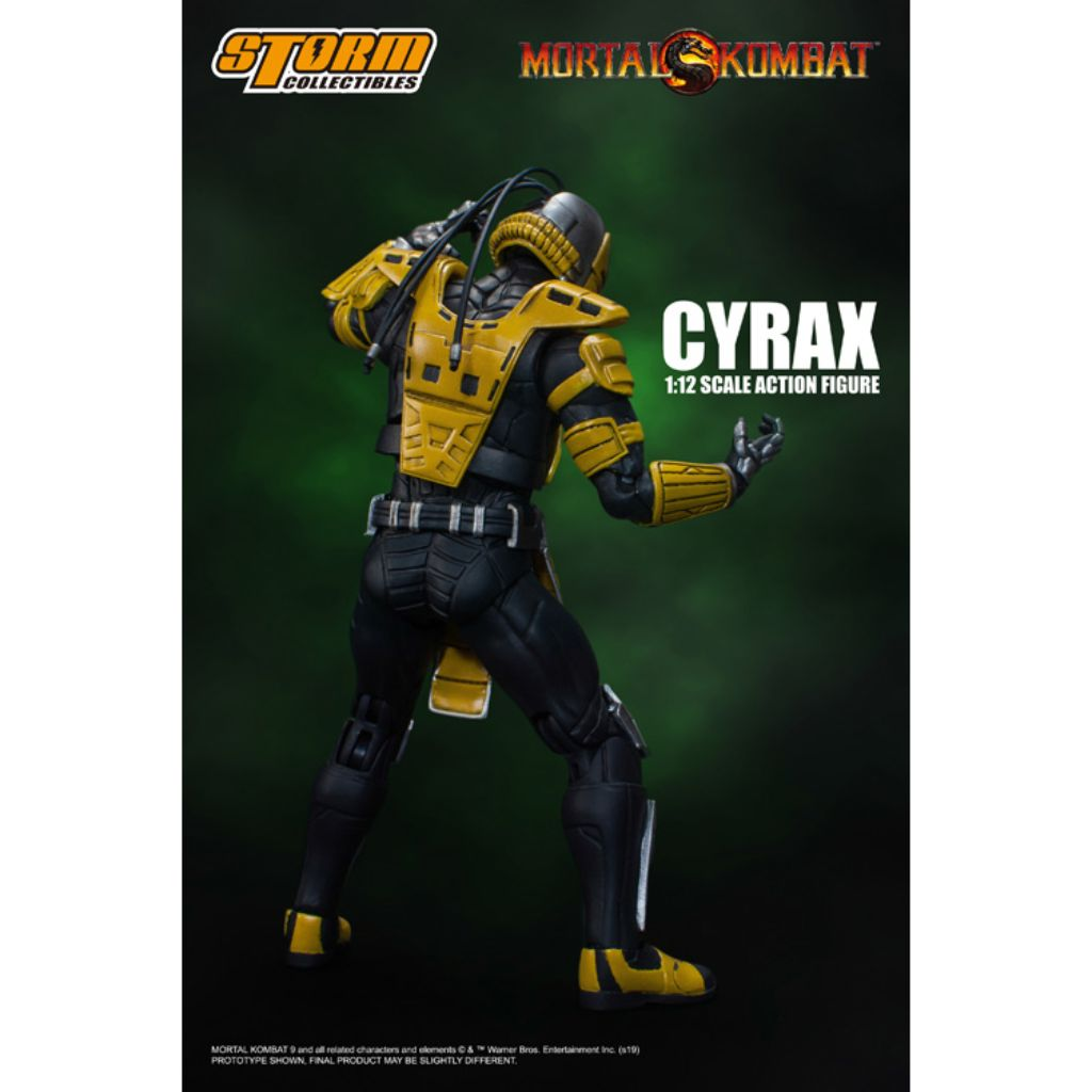 1:12 Scale Action Figure - Mortal Kombat - Cyrax