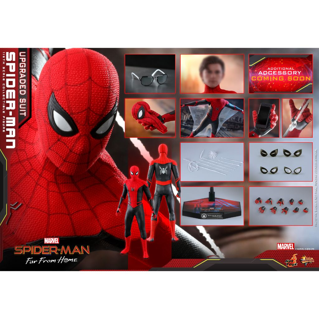 MMS542- Spider-Man: Far From Home - 1/6th scale Spider-Man (Upgraded Suit)