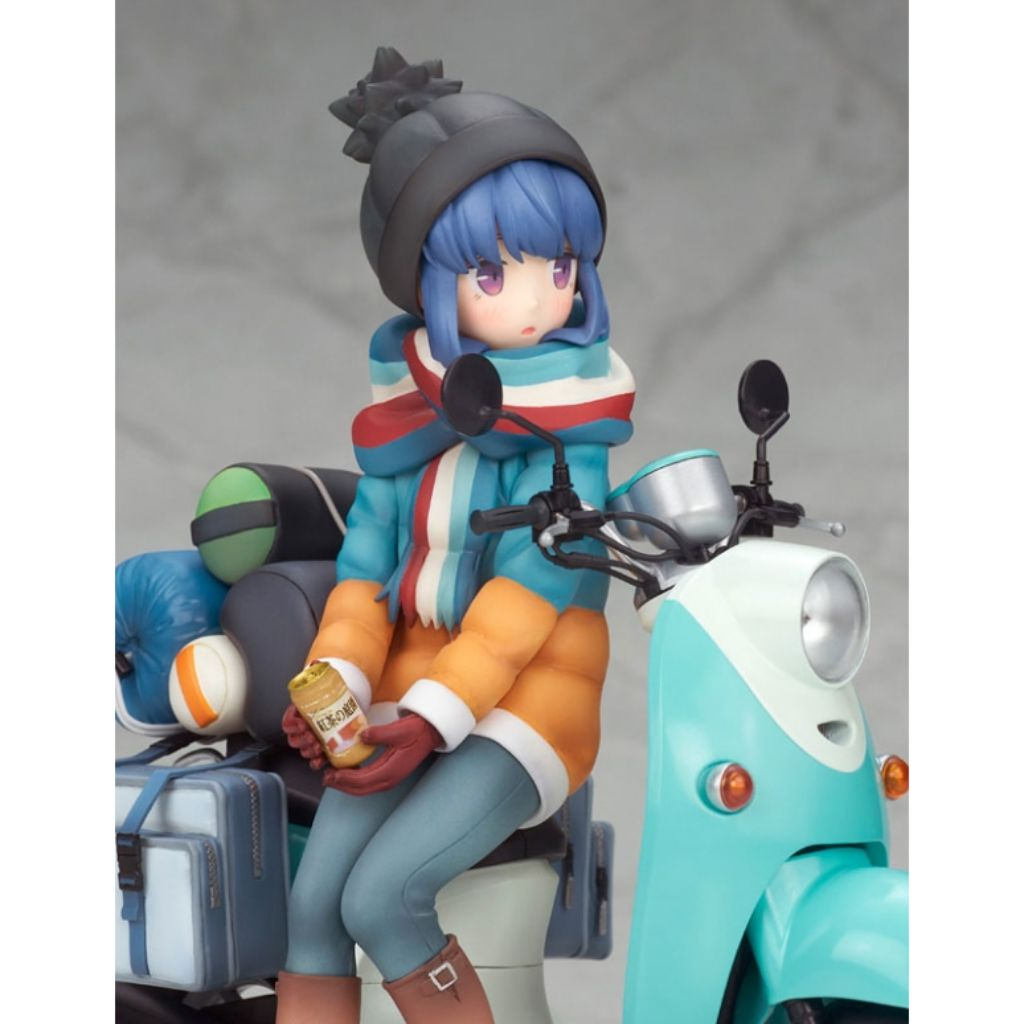 Yurucamp - Rin Shima With Scooter