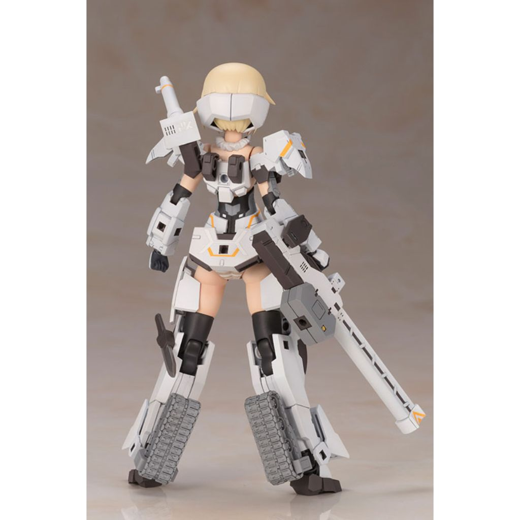 Frame Arms Girl - Gourai Kai (White) Version 2 Plastic Kit