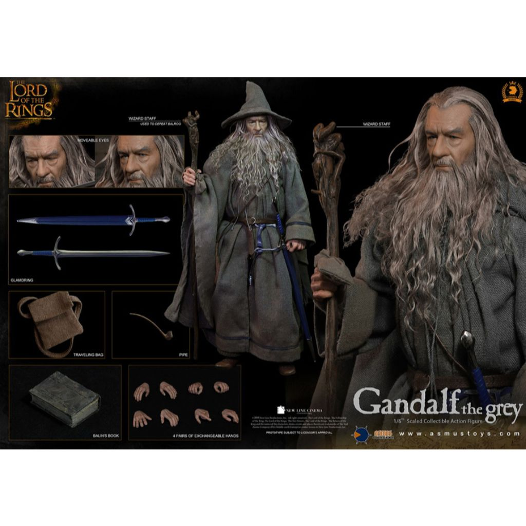 CRW001 - The Crown Series - Gandalf the Grey