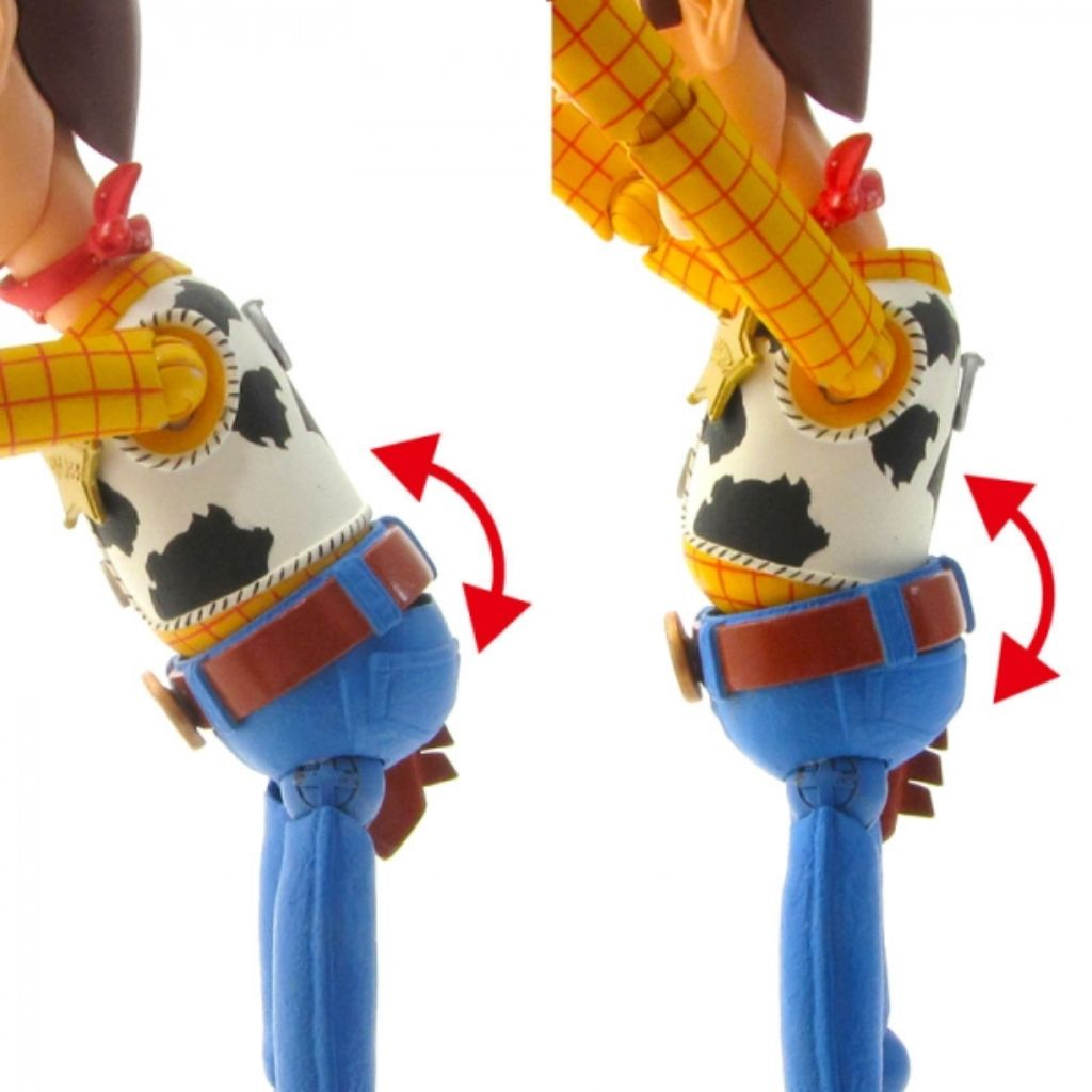 Legacy Of Revoltech Toy Story - Woody (Renewal Package Version) (Reissue)