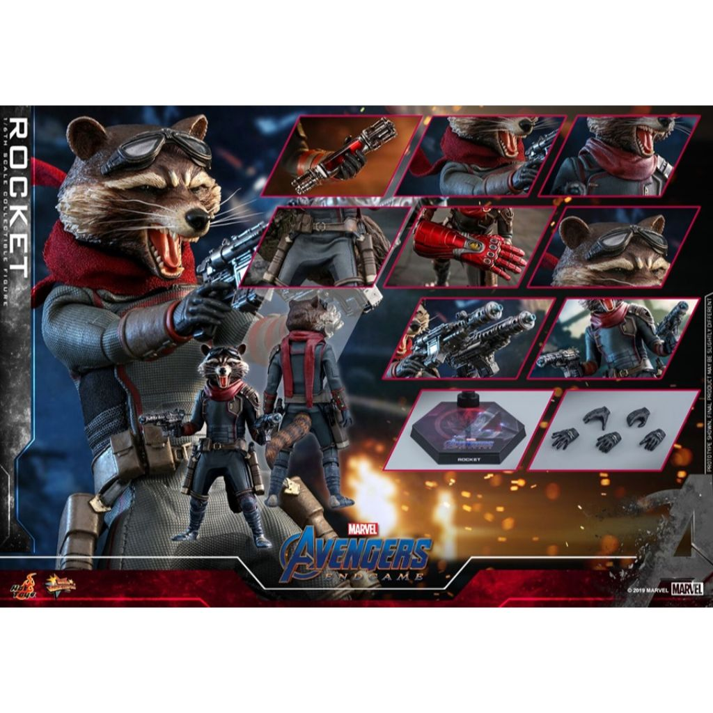 MMS548 - Avengers Endgame - 1/6th scale Rocket