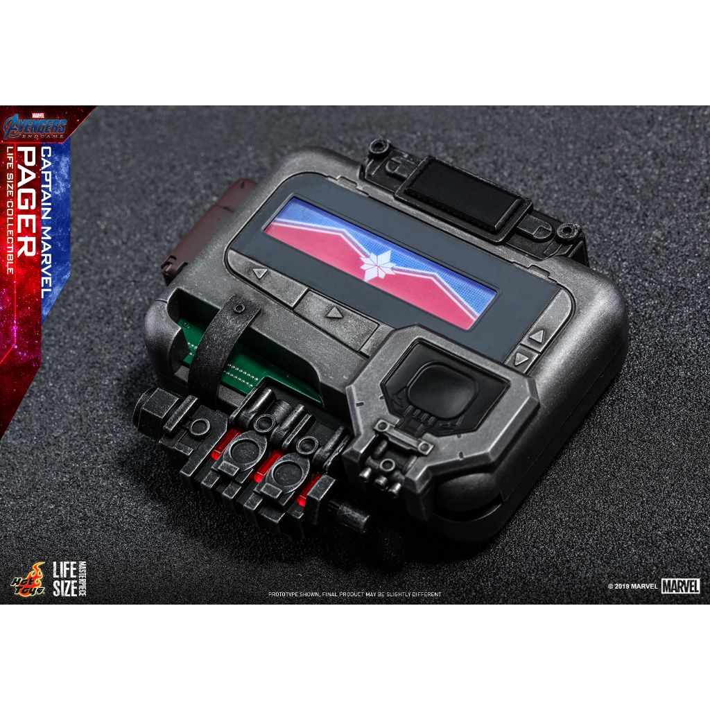 LMS009 - Avengers Endgame - Captain Marvel Pager Life-Size Collectible