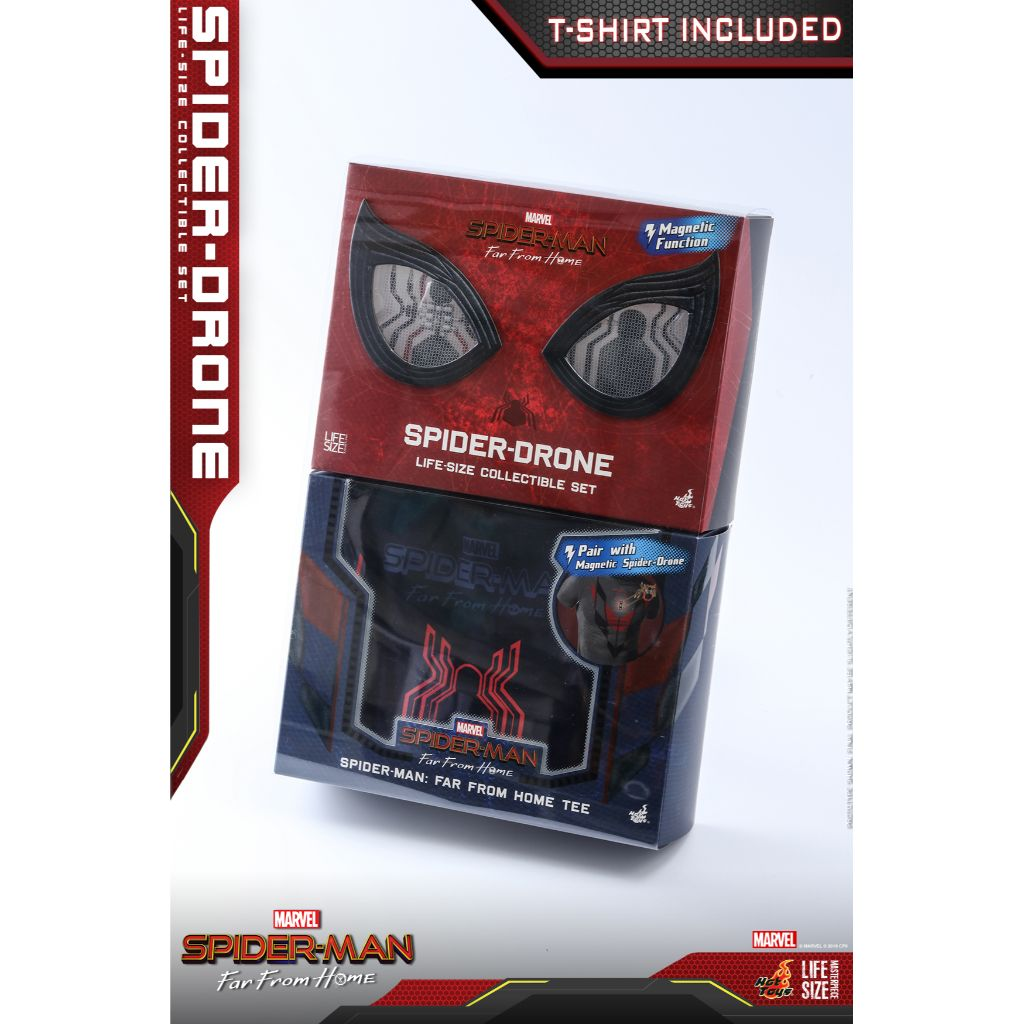 LMS011 - Spider-Man Far From Home - Spider-Drone Life-Size Collectible Set