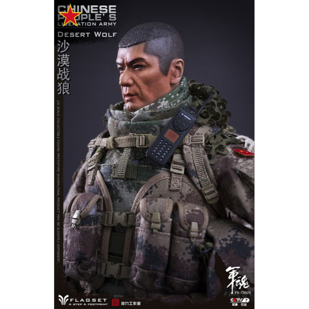 FS-73025 Chinese People's Liberation Army - Desert Wolf