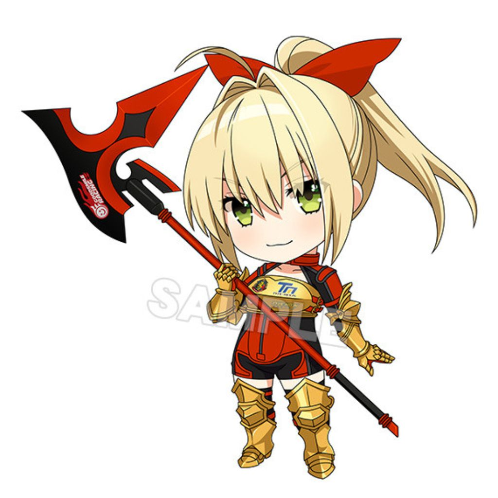 Nendoroid 1179 GS RACING & TYPE-MOON RACING - Nero Claudius: Racing Ver