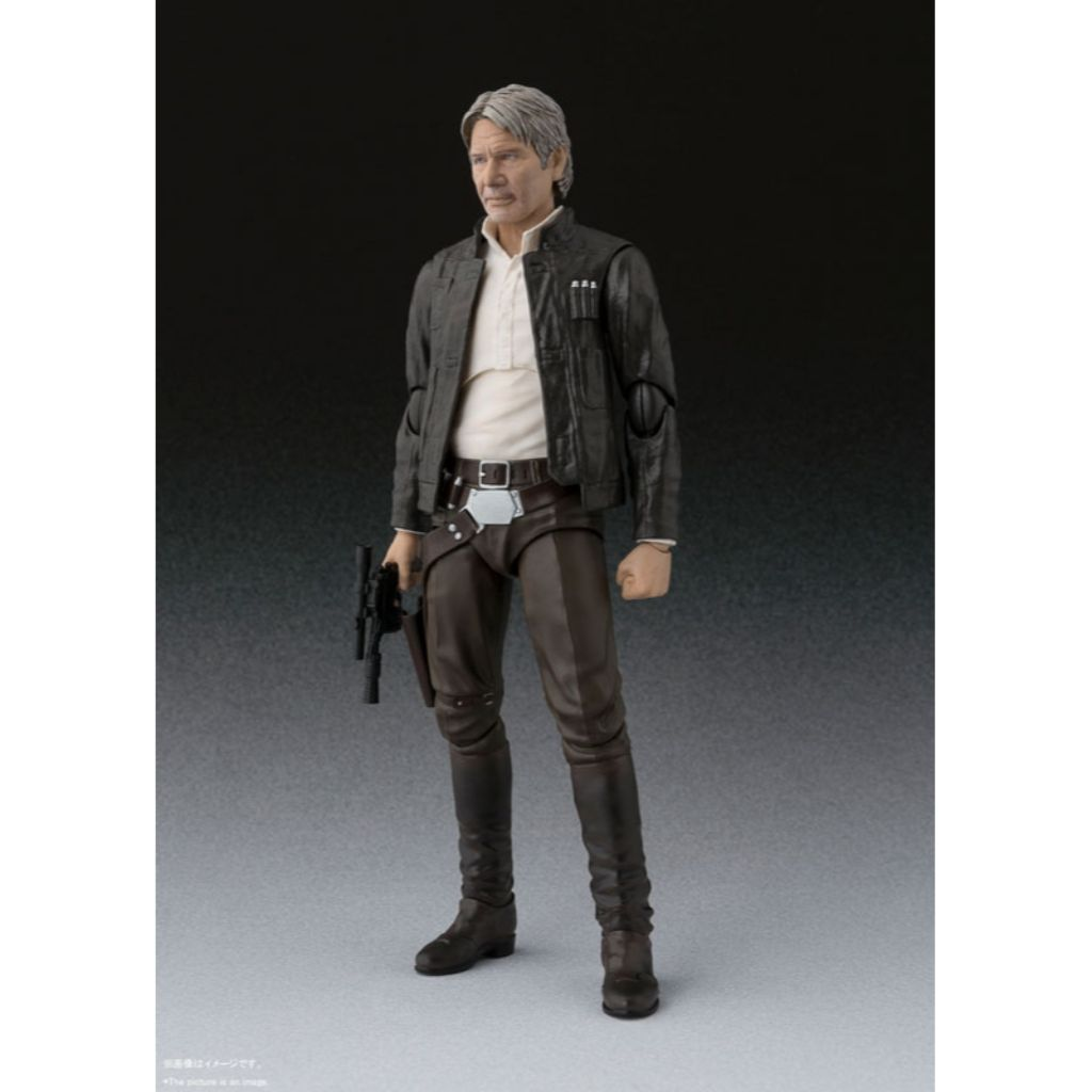 S.H. Figuarts Star Wars The Force Awakens - Han Solo