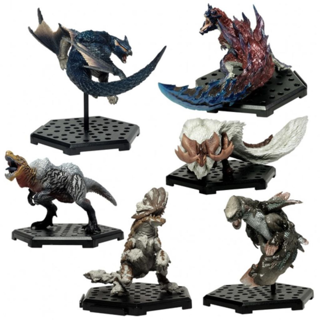 Figure Builders Monster Hunter Standard Model Plus Vol 15 Box (6 Pcs)