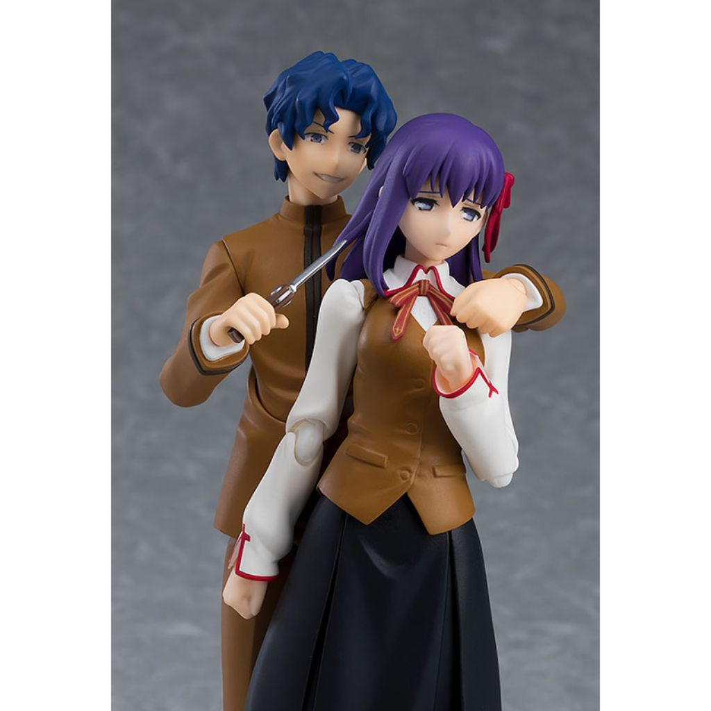 Figma 445 Fate stay night: Heavens Feel - Shinji Matou & Sakura Matou