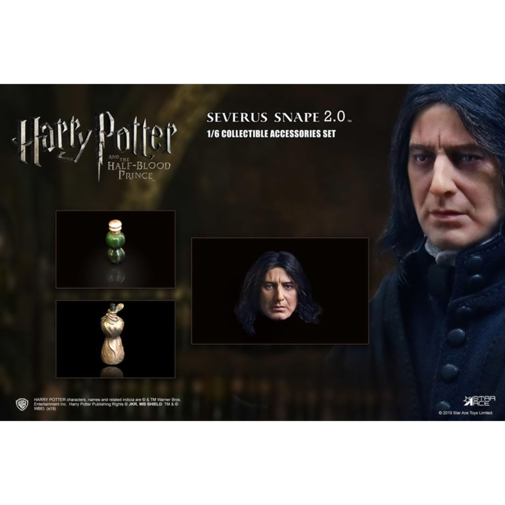 SA0081C - Harry Potter and the Half-Blood Prince - Severus Snape 2.0 Accessories Set