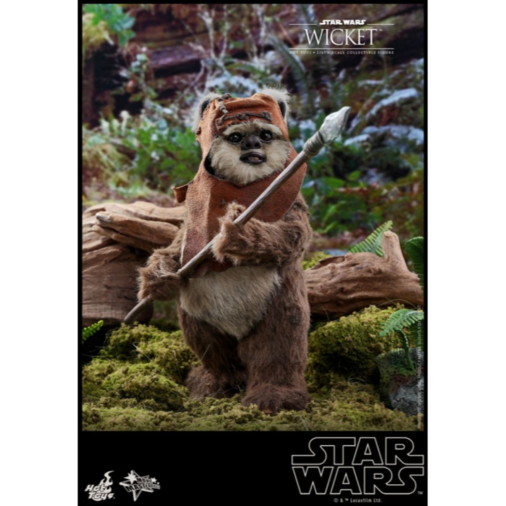 MMS550 - Star Wars: Return of the Jedi - 1/6th scale Wicket