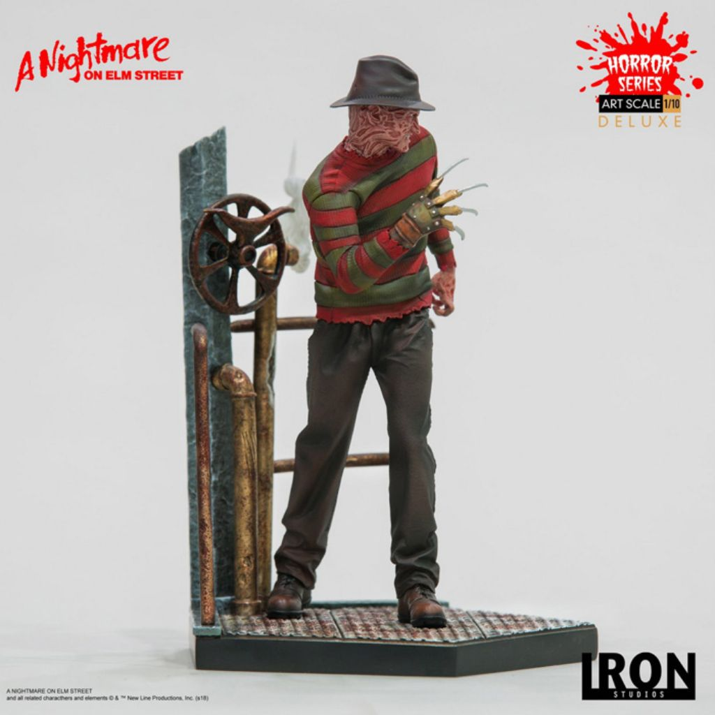 A Nightmare on Elm Street Deluxe Art Scale 1/10 - Freddy Krueger