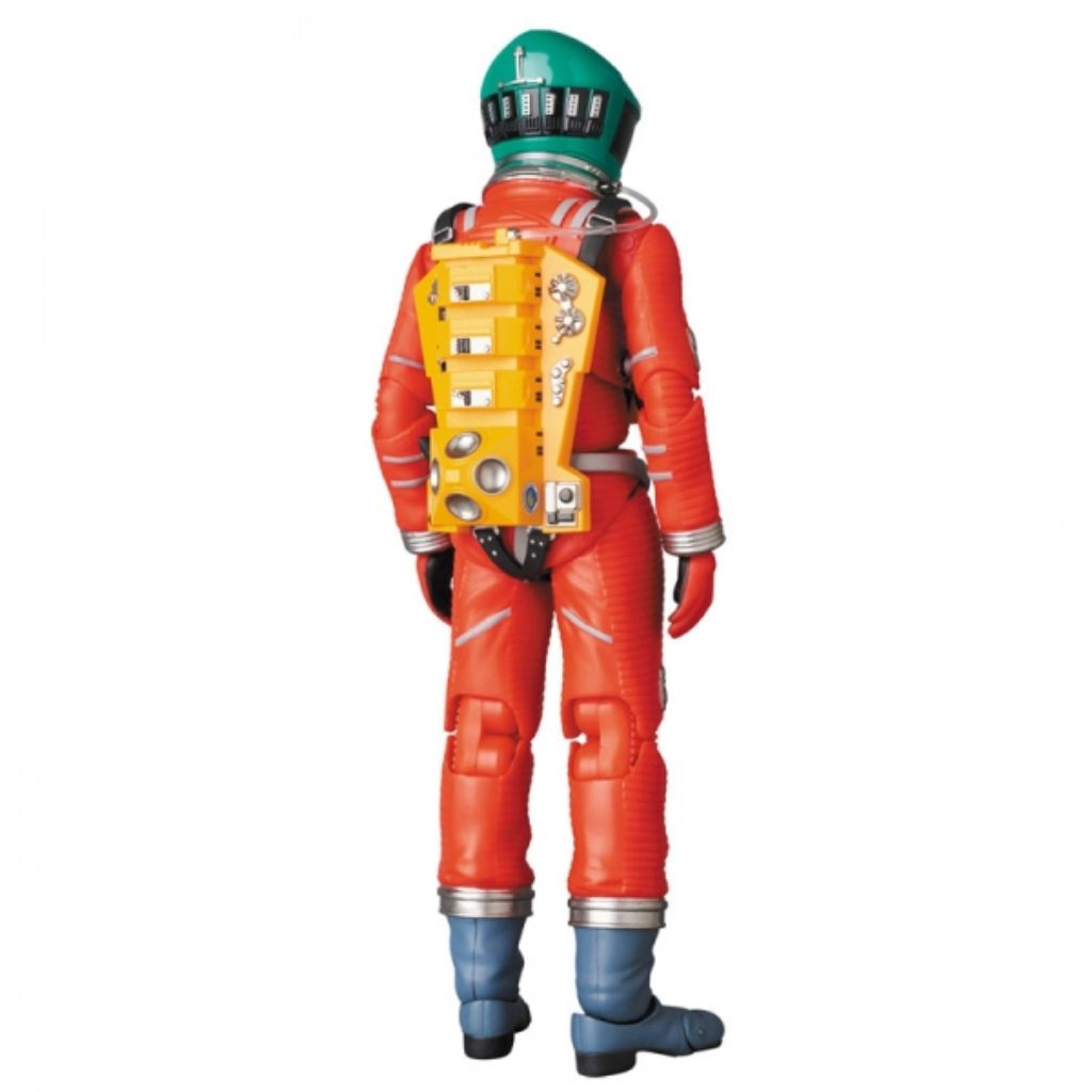 MAFEX 110 2001 A Space Odyssey - Space Suit Orange Version With Green Helmet