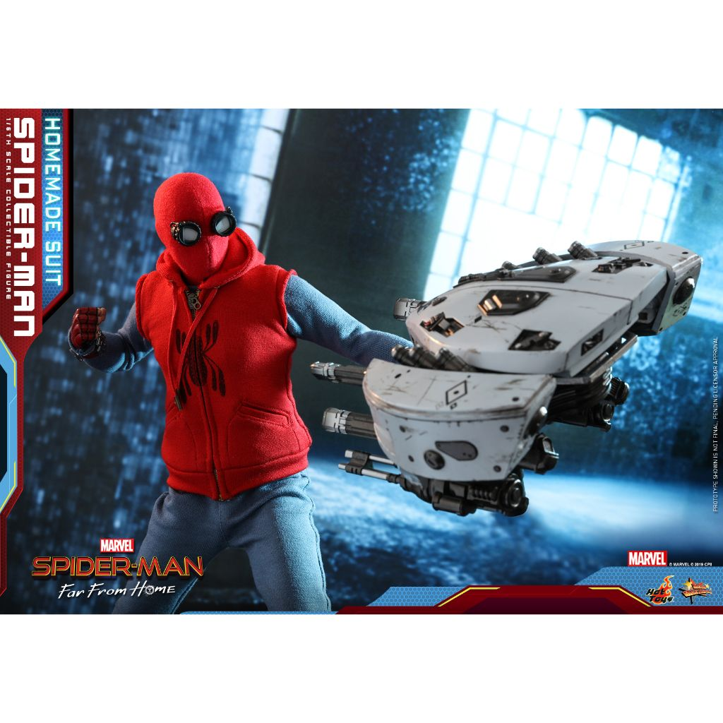MMS552 - Spider-Man: Far From Home 1/6th scale Spider-Man (Homemade Suit Version)