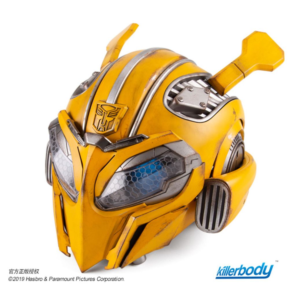 1 1 Scale High End Replica Transformers Bumblebee Bumblebee Helme Tog Toy Or Game