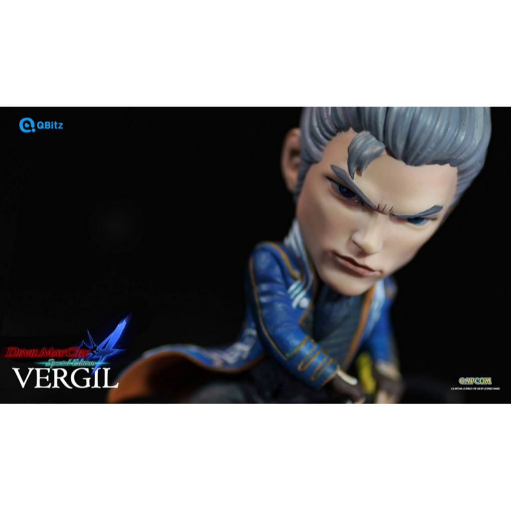 QBitz QB004 - Devil May Cry 4 Special Edition - Vergil Limited Articulation Figure