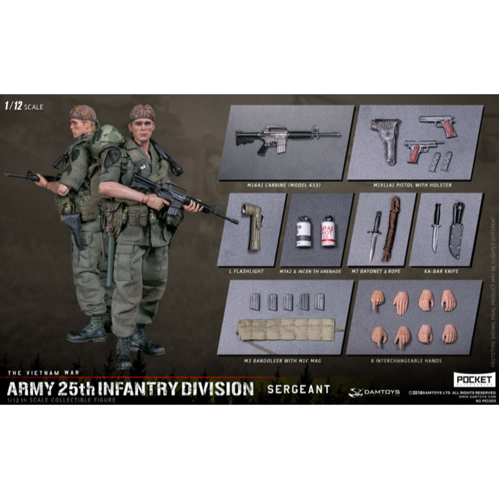 PES005 - The Vietnam War - Army 25th Infantry Division Sergeant