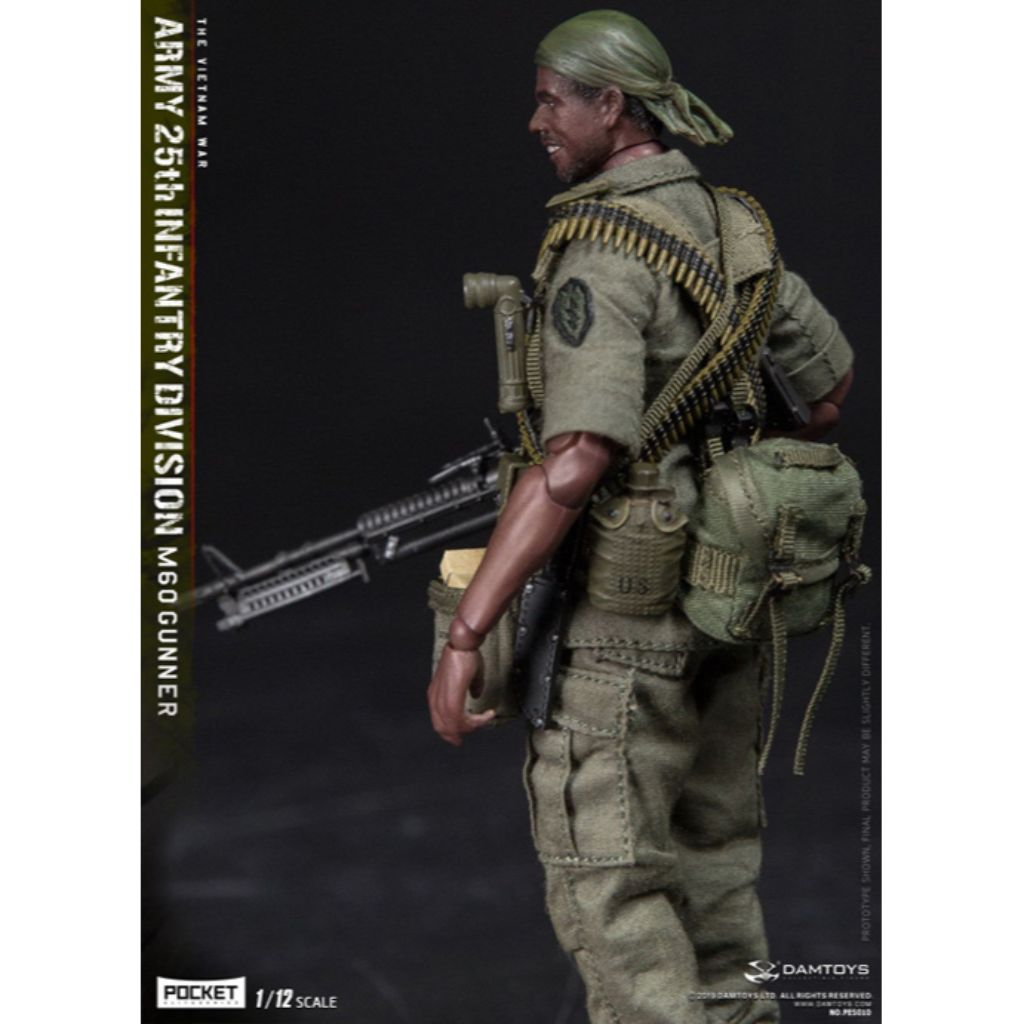 PES010 - The Vietnam War - Army 25th Infantry Division M60 Gunner