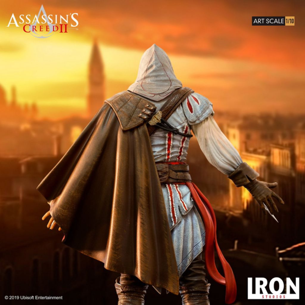 Assassin S Creed Ii Art Scale 1 10 Ezio Auditore Tog Toy Or Game