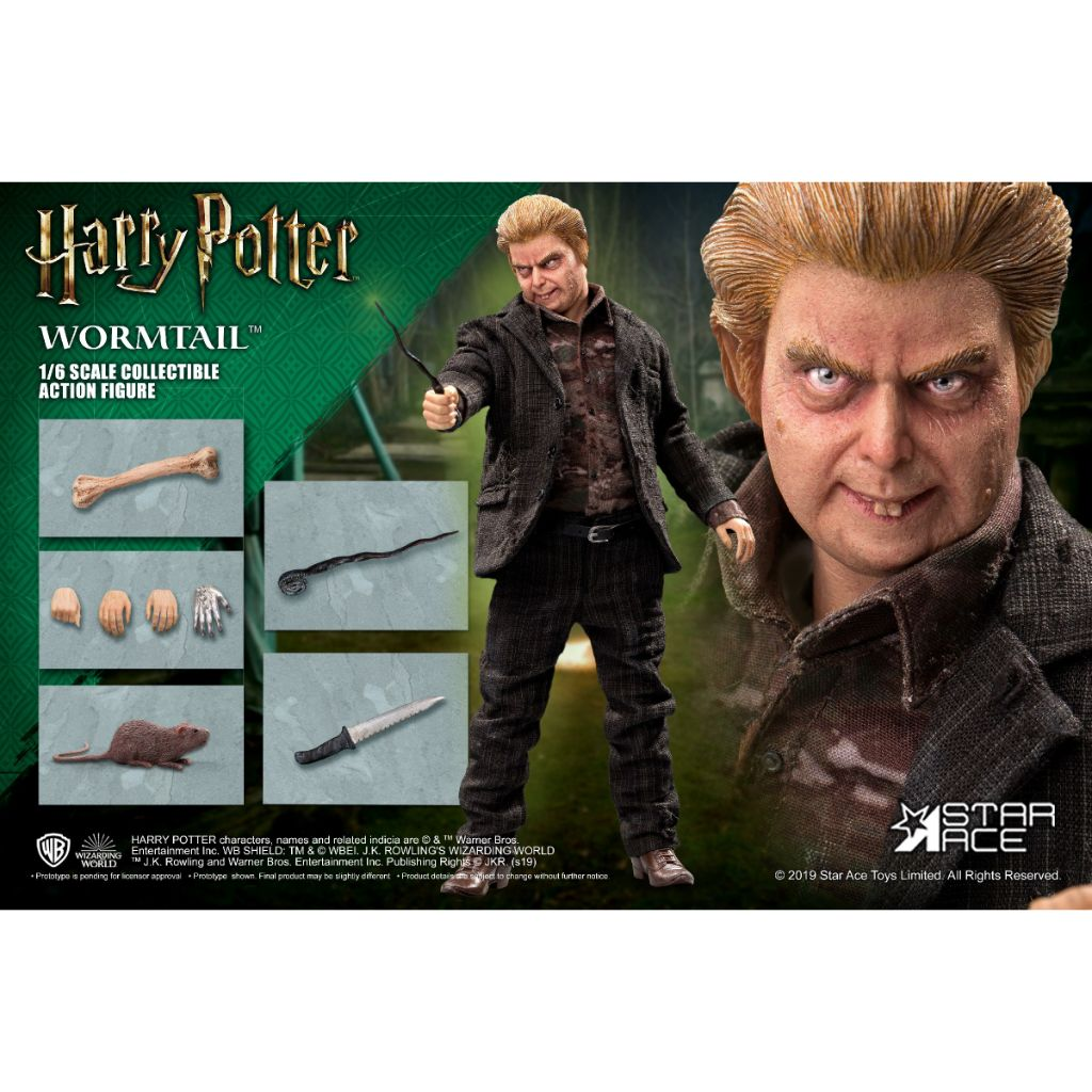 SA0074 Harry Potter and The Goblet of Fire - 1:6 Wormtail [Normal Ver.]