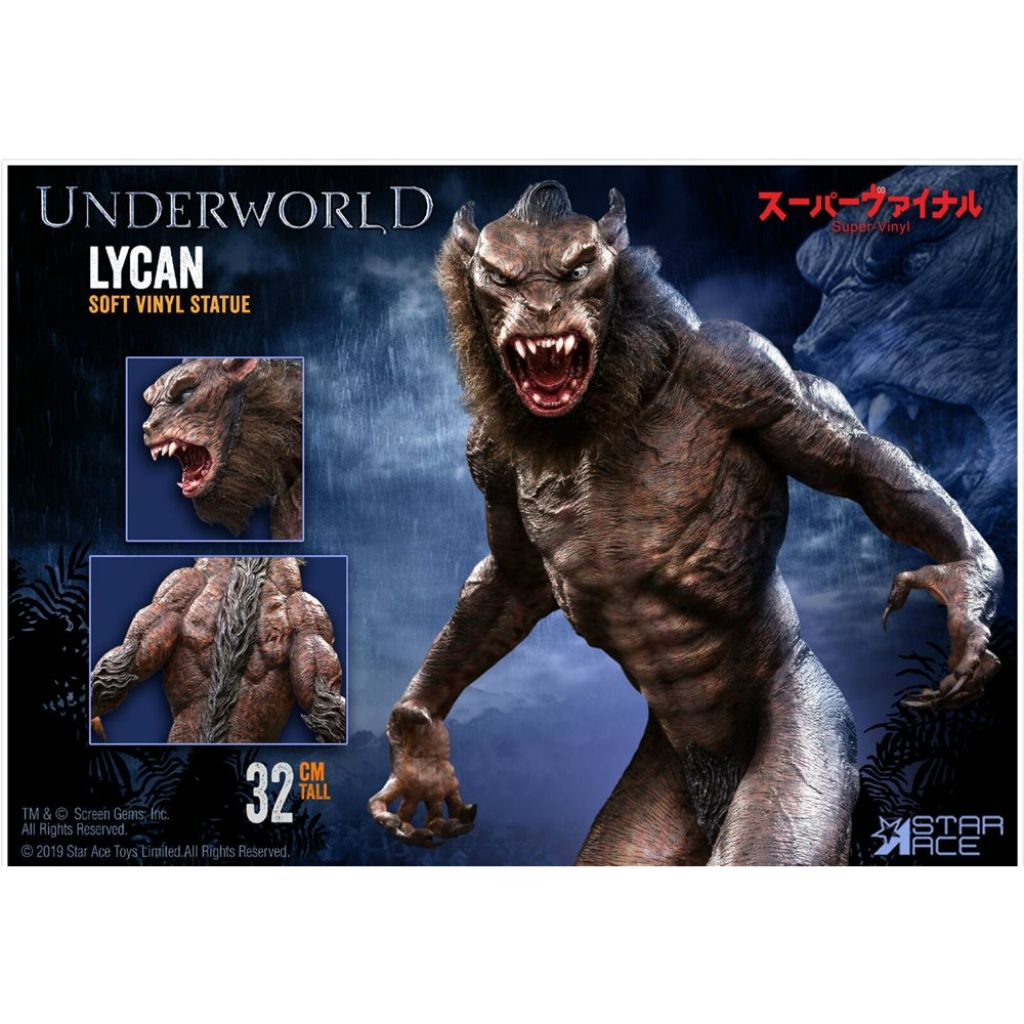 SA9004 Underworld : Evolution - 32 cm Lycan [Normal Ver.]