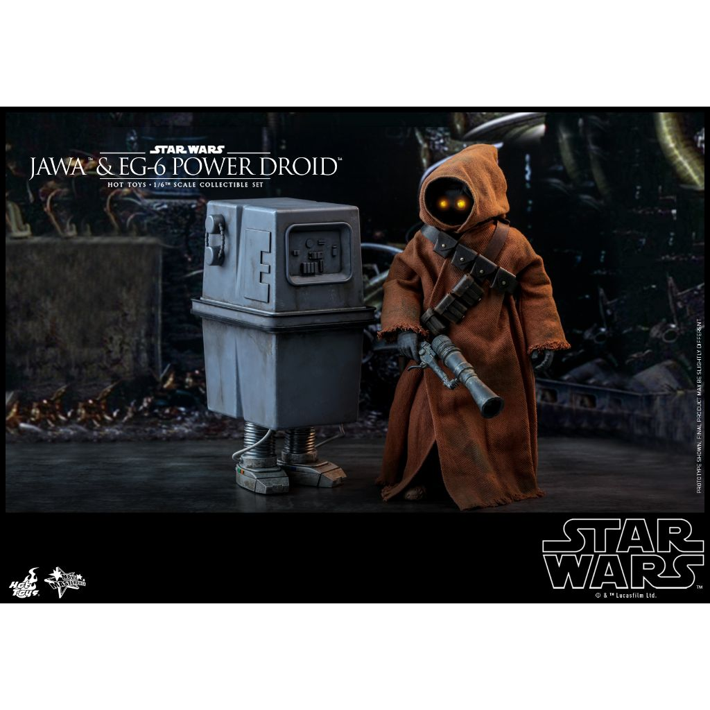 MMS554 - Star Wars: Episode IV A New Hope - 1/6th scale Jawa & EG-6 Power Droid Collectible Set