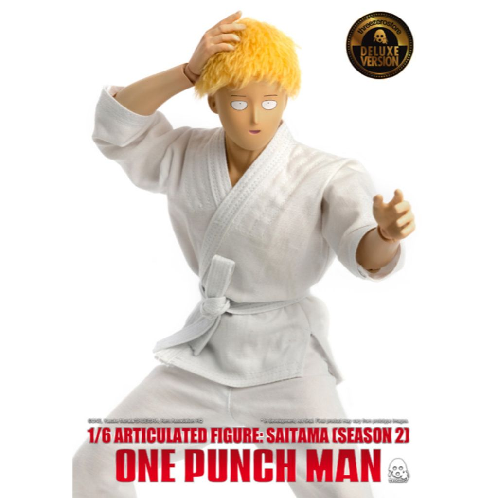 1/6 One-Punch Man - Saitama (Deluxe Version)