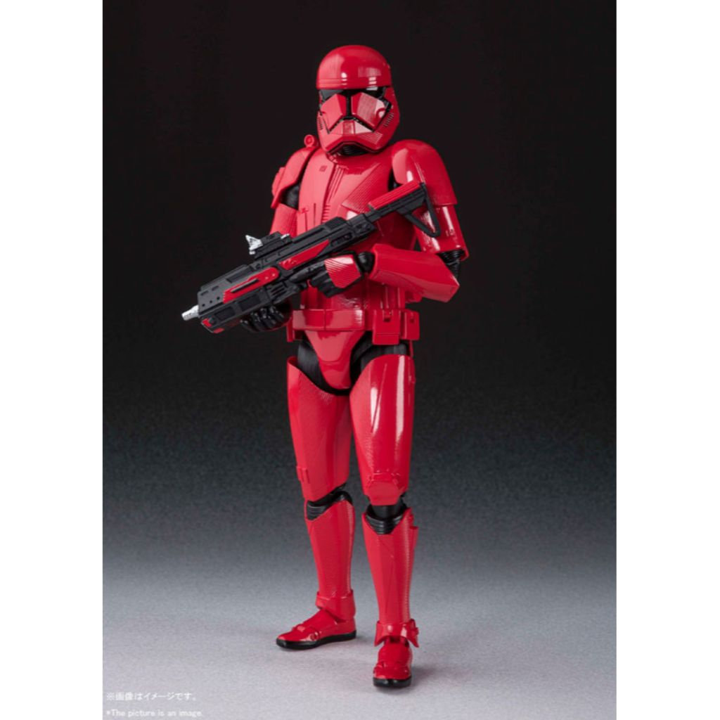S.H. Figuarts Star Wars : The Rise Of Skywalker - Sith Trooper (subjected to allocation)