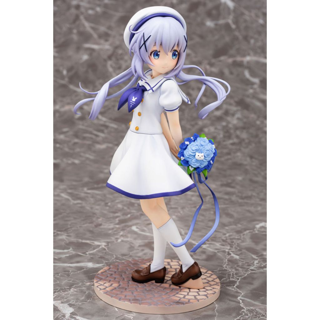 IS THE ORDER A RABBIT? - Chino (Summer Uniform) Figurine