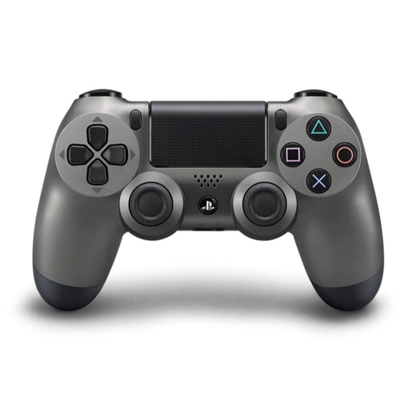 PS4 New DS4 Steel Black 2.0 Controller *Asia