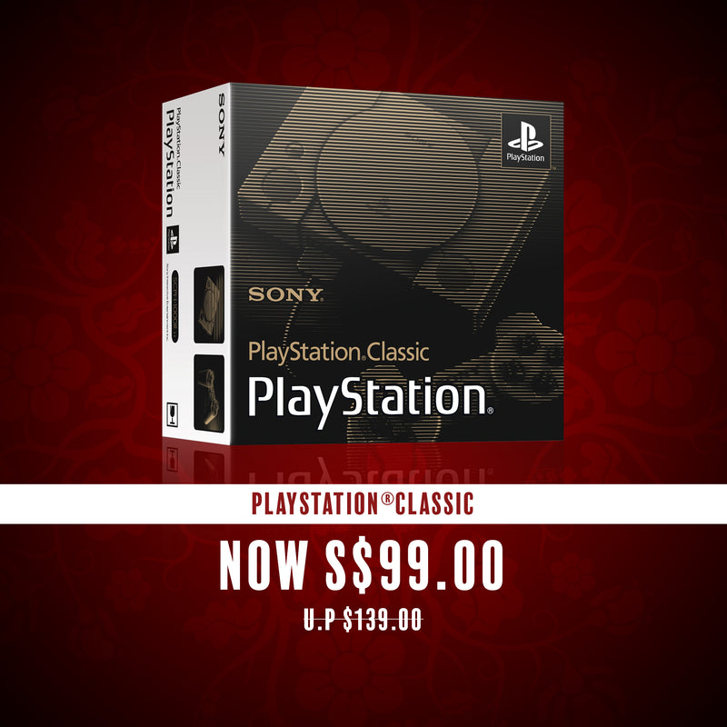 [CNY 2019] Hardware PlayStation®Classic [Deposit only]