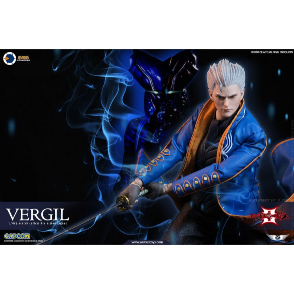 DMC002 - Devil May Cry 3 - Vergil (Standard Version) (Reissue)