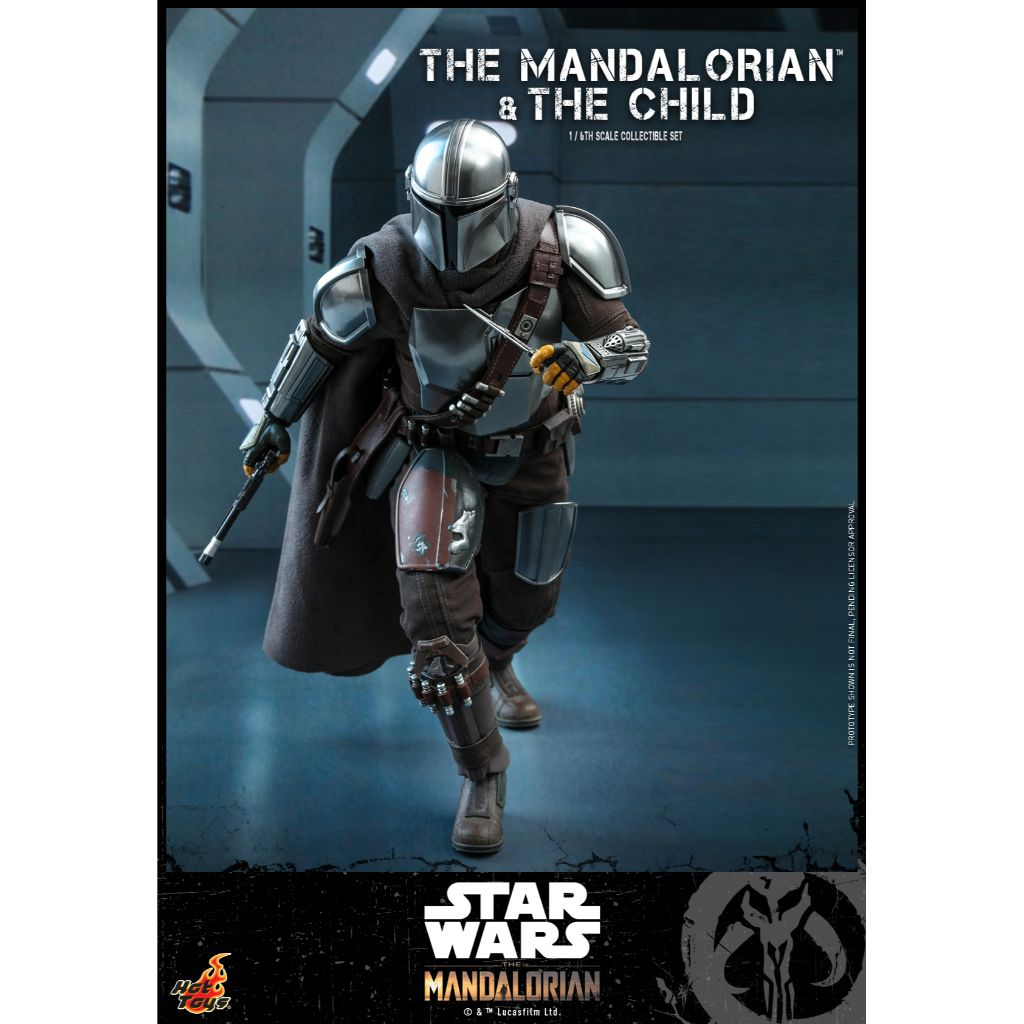 TMS014 - The Mandalorian : 1/6th scale The Mandalorian and The Child Collectible Set