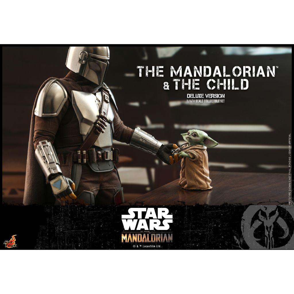 TMS015 - The Mandalorian : 1/6th scale The Mandalorian and The Child Collectible Set (Deluxe Version)