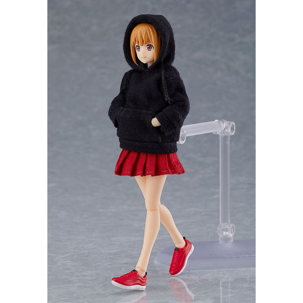 Figma Styles - Female Body (Emily) With Hoodie Outfit