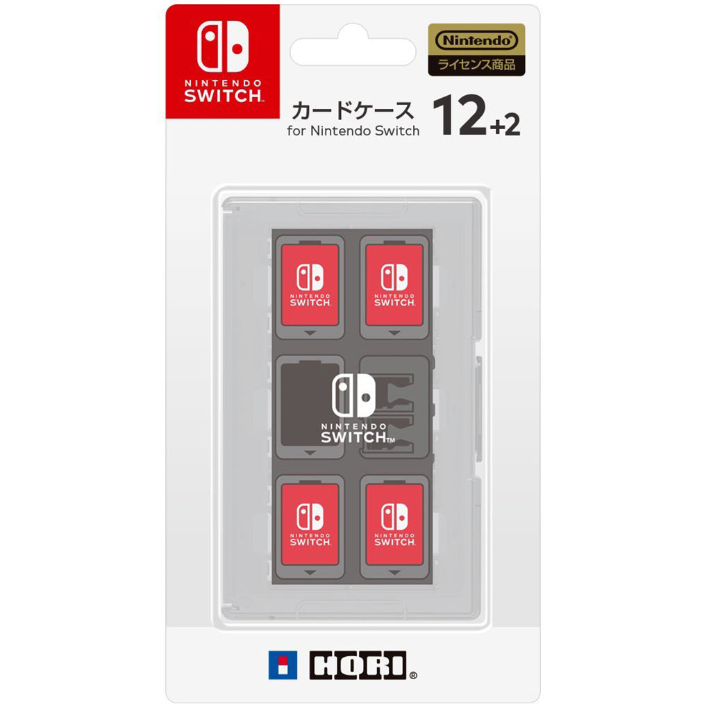 Nintendo Switch HORI Card Case 12+2 White (NSW-024)