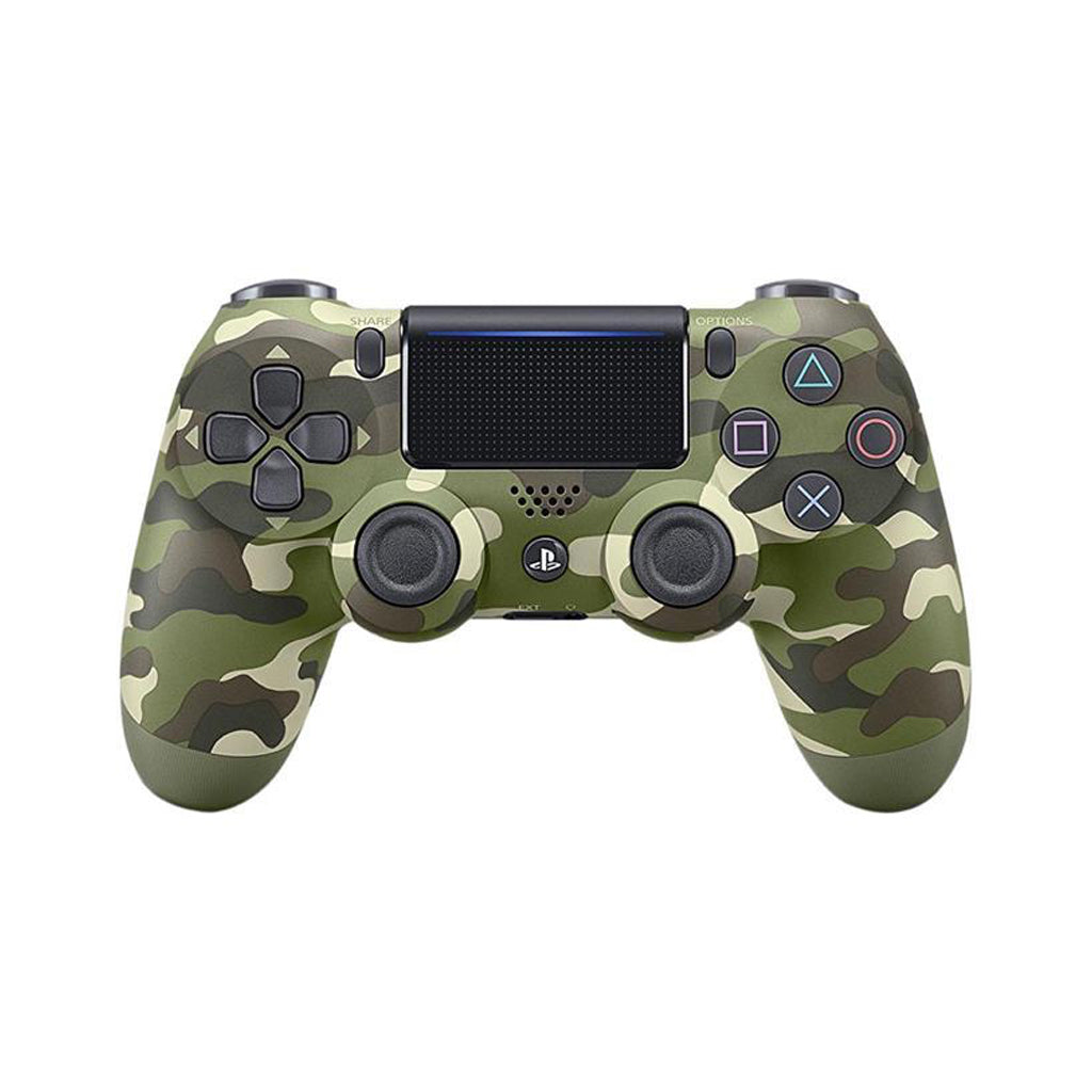 PS4 New DS4 Green Camouflage Wireless Controller *Asia
