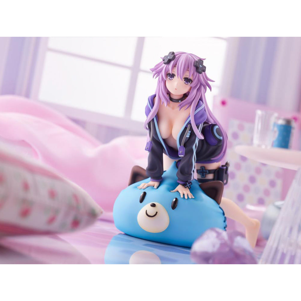 Hyperdimension Neptunia - Dimension Traveler Neptune Wake Up Version Pvc Figure
