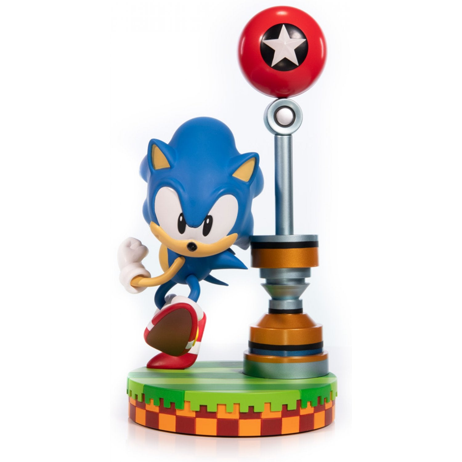 F4F Sonic the Hedgehog PVC Painted Statue: Sonic