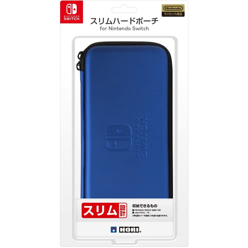HORI NSW Slim Hard Pouch Blue (NSW-008)
