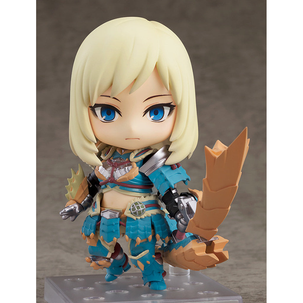 NENDOROID 1407‐DX MONSTER HUNTER WORLD: ICEBORNE - HUNTER: FEMALE ZINOGRE ALPHA ARMOR VER. DX