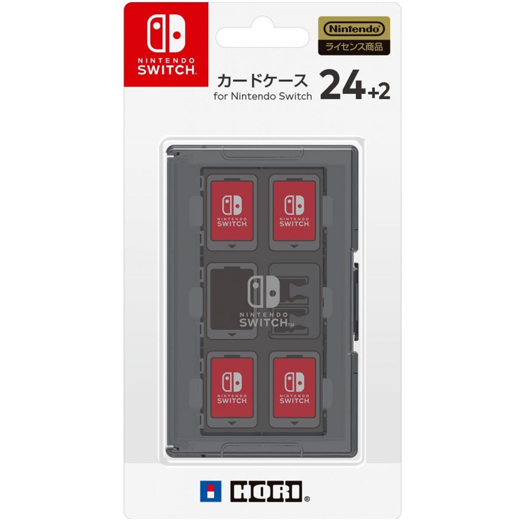 Nintendo Switch HORI Card Case 24+2 Black (NSW-025)