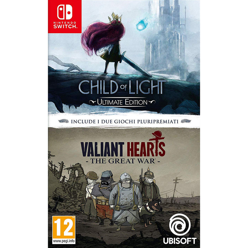 Child of Light / Valiant Hearts Double Pack